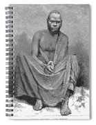 Africa: Yao Chief, 1889 Spiral Notebook