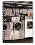 After Enlightenment The Laundry. Spiral Notebook