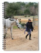 After The Day's Ride Spiral Notebook