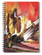 After The Earthquake Spiral Notebook