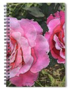 After The Summer Rain Watercolor Spiral Notebook
