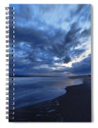 Afterglow On Fire Island Spiral Notebook