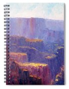 Afternoon In The Canyon Spiral Notebook