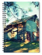 Afternoon Light On Barn Spiral Notebook