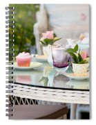 Afternoon Tea And Cakes Spiral Notebook