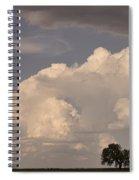 Afternoon Thunderstorm Building East Boulder County Co Plains Spiral Notebook