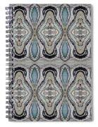 Agate-38e Border Tiled Spiral Notebook