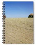 Agricultural Landscape. Limagne. France Spiral Notebook