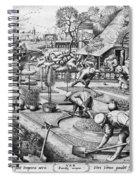 Agriculture: Spring, C1555 Spiral Notebook