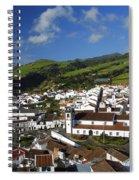 Agua De Pau Spiral Notebook
