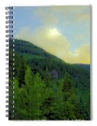 Ah To Live On Vail Mountain Spiral Notebook