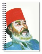 Ahmed Messali Hadj Spiral Notebook