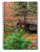 Ahwahnee Cabin Light Spiral Notebook
