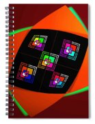 Ai Bow Tie Spiral Notebook