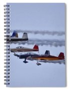 Air Show Flyover Spiral Notebook