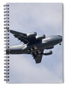 Airplane In The Sky Spiral Notebook