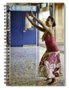 Airport Aloha Spiral Notebook