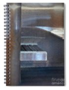 Airport Cubical Spiral Notebook
