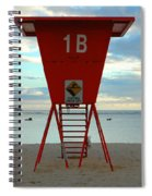 Ala Moana Lifeguard Station Spiral Notebook