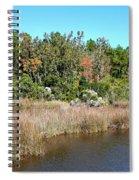 Alabama Bayou In Autumn Spiral Notebook