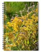 Alabama Goldenrod Spiral Notebook