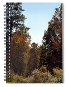Alabama Mountainside October 2012 Spiral Notebook