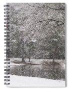 Alabama Winter Wonderland Spiral Notebook