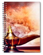 Aladdin Lamp Spiral Notebook