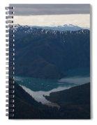 Alaska Coastal Serenity Spiral Notebook