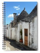 Alberobello Street Scene Spiral Notebook
