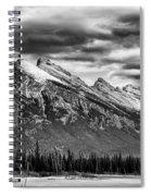 Alberta Rockies Spiral Notebook