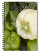Albino Bullnose Pepper Spiral Notebook
