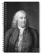 Albrecht Von Haller Spiral Notebook