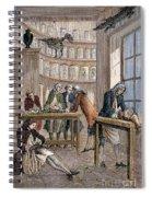 Albrecht Von Haller In Lab Spiral Notebook