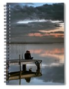 Albufera. Couple. Valencia. Spain Spiral Notebook