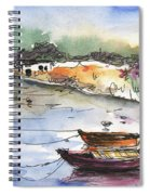 Albufera De Valencia 11 Spiral Notebook