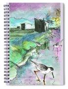 Albufera De Valencia 14 Spiral Notebook