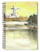 Albufera De Valencia 16 Spiral Notebook