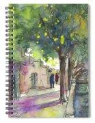 Albufera De Valencia 17 Spiral Notebook