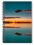 Albufera Panoramic View. Spain Spiral Notebook