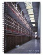 Alcatraz Cell Block Spiral Notebook