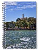 Alcatraz Island San Francisco Spiral Notebook