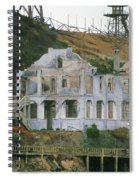 Alcatraz Skeleton Spiral Notebook