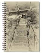 Alcatraz Two-way Work Staircase Spiral Notebook