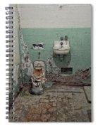 Alcatraz Vandalized Cell Spiral Notebook