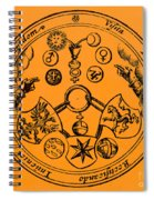 Alchemical Symbols, 1670 Spiral Notebook