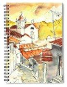 Alcoutim In Portugal 06 Spiral Notebook