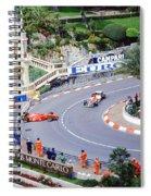 Alesi Spin At Loews Hairpin Spiral Notebook