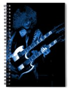 Doubleneck Spokane 1978 Blue Spiral Notebook