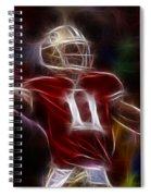 Alex Smith - 49ers Quarterback Spiral Notebook